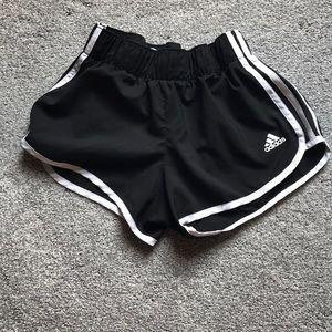 Xs adidas running short three striped